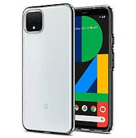Чехол Spigen для Google Pixel 4 XL Liquid Crystal, Crystal Clear (F25CS27548)