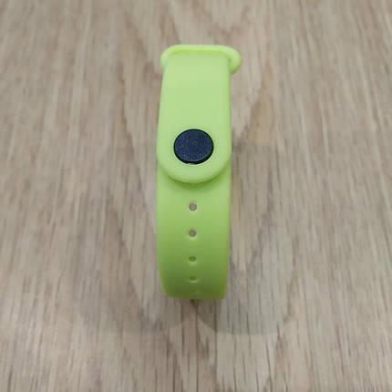 Ремешок для Фитнес-Трекера,  XIAOMI MI BAND 3 / 4 одноцветный - Light Green - Салатовый, фото 2