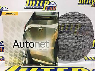 Круг шлифовальный Mirka СЕТКА Autonet (Автонет) 150 мм Р80