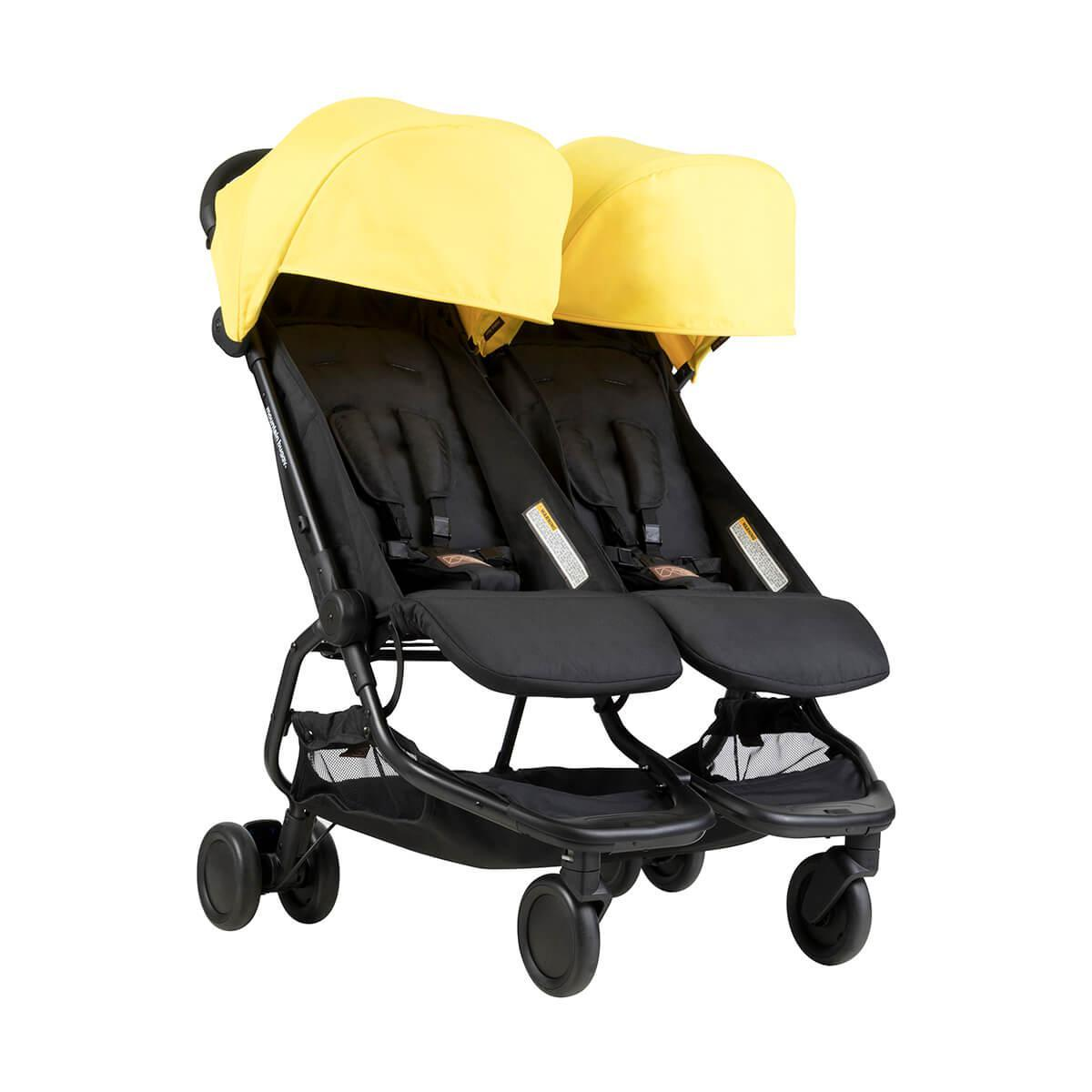 Прогулочная коляска для двойни Mountain Buggy Nano Duo