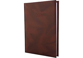 Щоденник датований 2020, OFFICE, коричневий, А5