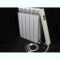 Электрорадиатор настенный Эра 5 секций, отопление 8-10 кв.м. (220 Вт/ч)