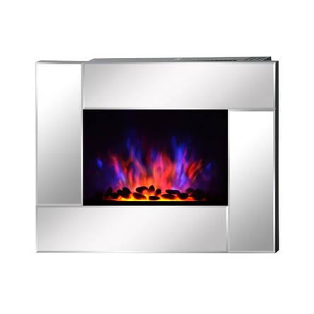 Электрокамин FIRESTYLE LED 900/1800 Вт, серебристый, фото 2