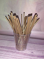 Палочки для кейк- попсов золото, 15 см