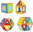 Детский магнитный конструктор Magical Magnet на 48 деталей, фото 5