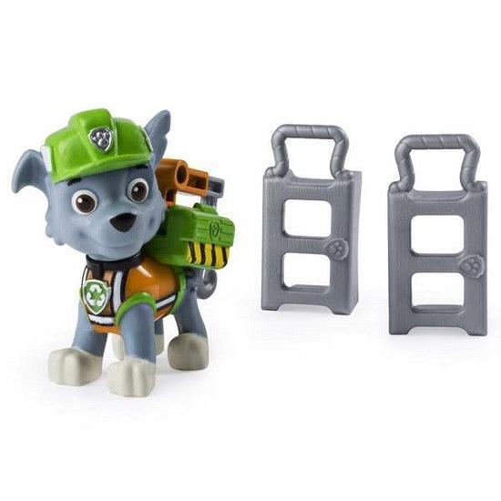 Щенячий патруль: коллекционная фигурка Рокки с механической функцией (Чрезвычайная миссия)