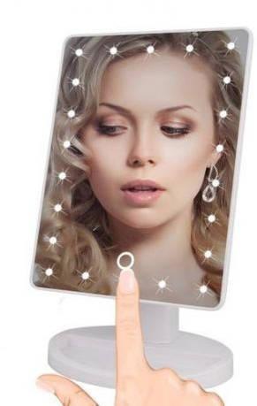 Зеркало сенсорное с LED подсветкой Magic Makeup 22LED, фото 2