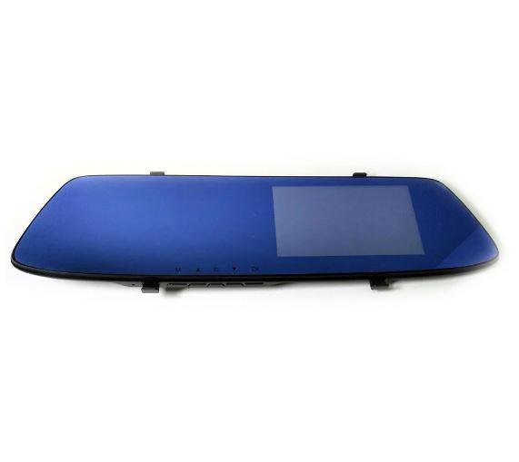 Зеркало заднего вида с видеорегистратором DVR MHZ T605 HD c 2 камерами