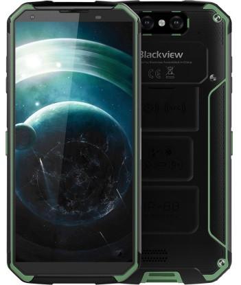 """Смартфон Blackview BV9500 Plus 4/64Gb Green, 16+0.3/13Мп, 5,7"""" IPS, 2SIM, IP68, 4G, 10000мА, Helio P70"""