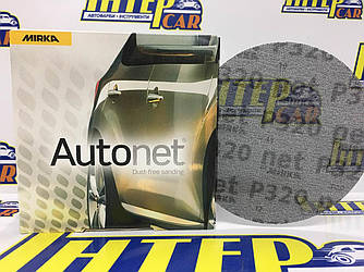 Круг шлифовальный Mirka СЕТКА Autonet (Автонет) 150 мм Р320