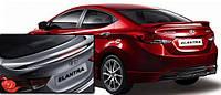 Спойлер на крышку багажника Hyundai Elantra 2010 +