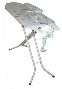 Акция! Гладильная доска перфорированный стол 120*38 см Y-Max (100% хлопок чехол)