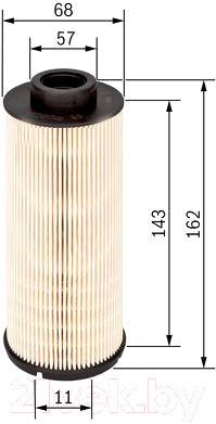 Фільтр паливний PRESTIJ (4P10) BOSCH