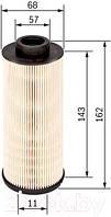 Фильтр топливный PRESTIJ  (4P10) BOSCH