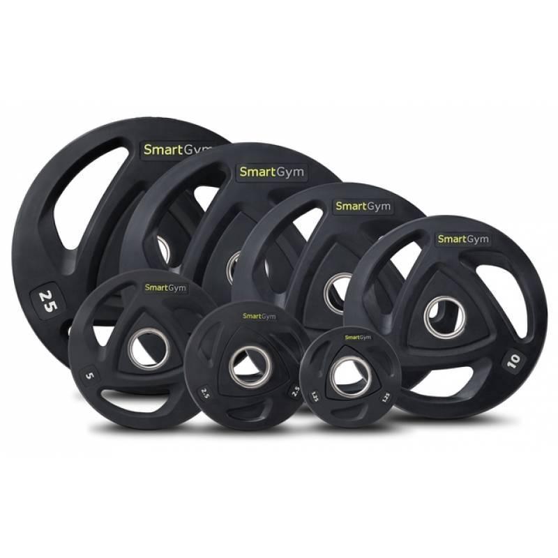 Купить Набор олимпийских дисков 60 кг SmartGym блины для дома и портзала, Hop-Sport