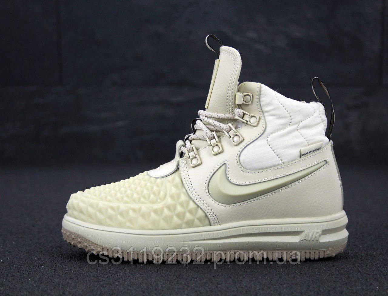 Мужские кроссовки Nike Lunar Force 1 Duckboot 17 (кремовые)