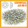 Набор Камни Стразы Diamond 50 шт. Crystal  AB  SS 3 (Бензин)