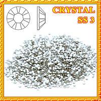 Набор Камни Стразы Diamond 50 шт. Crystal  SS 3 (Серебро)