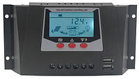 Контроллер заряда ШИМ (PWM) 30А 12В/24В WP3024D Juta