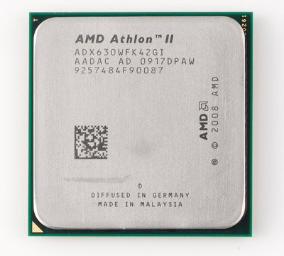 Процессор, AMD Athlon II X4 630, 4 ядра, 2.8 гГц