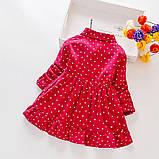 Хлопковое платье для девочки размер 86., фото 2