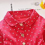 Хлопковое платье для девочки размер 86., фото 3