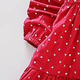 Хлопковое платье для девочки размер 86., фото 5