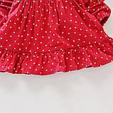 Хлопковое платье для девочки размер 86., фото 6