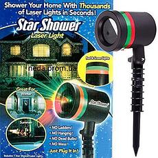 Вуличний лазерний проектор STAR SHOWER LASER LIGHT 84 CG04 CG07, фото 3