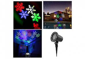 Лазерный проектор Led Strahler Schneeflocke Z2 лазерная подсветка для дома CG04 PR4, фото 2