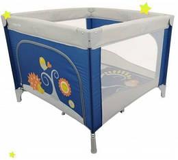 Детский манеж Baby Mix HR-SQ106-3 navy, синий (9569)