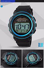 Спортивные мужские часы Solar Watch Skmei 1096 Blue, фото 3