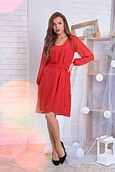 Платье шифон в расцветках 05505