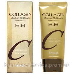 Enough Collagen Moisture BB Cream SPF47PA+++, Коллагеновый увлажняющий ББ крем 50 мл