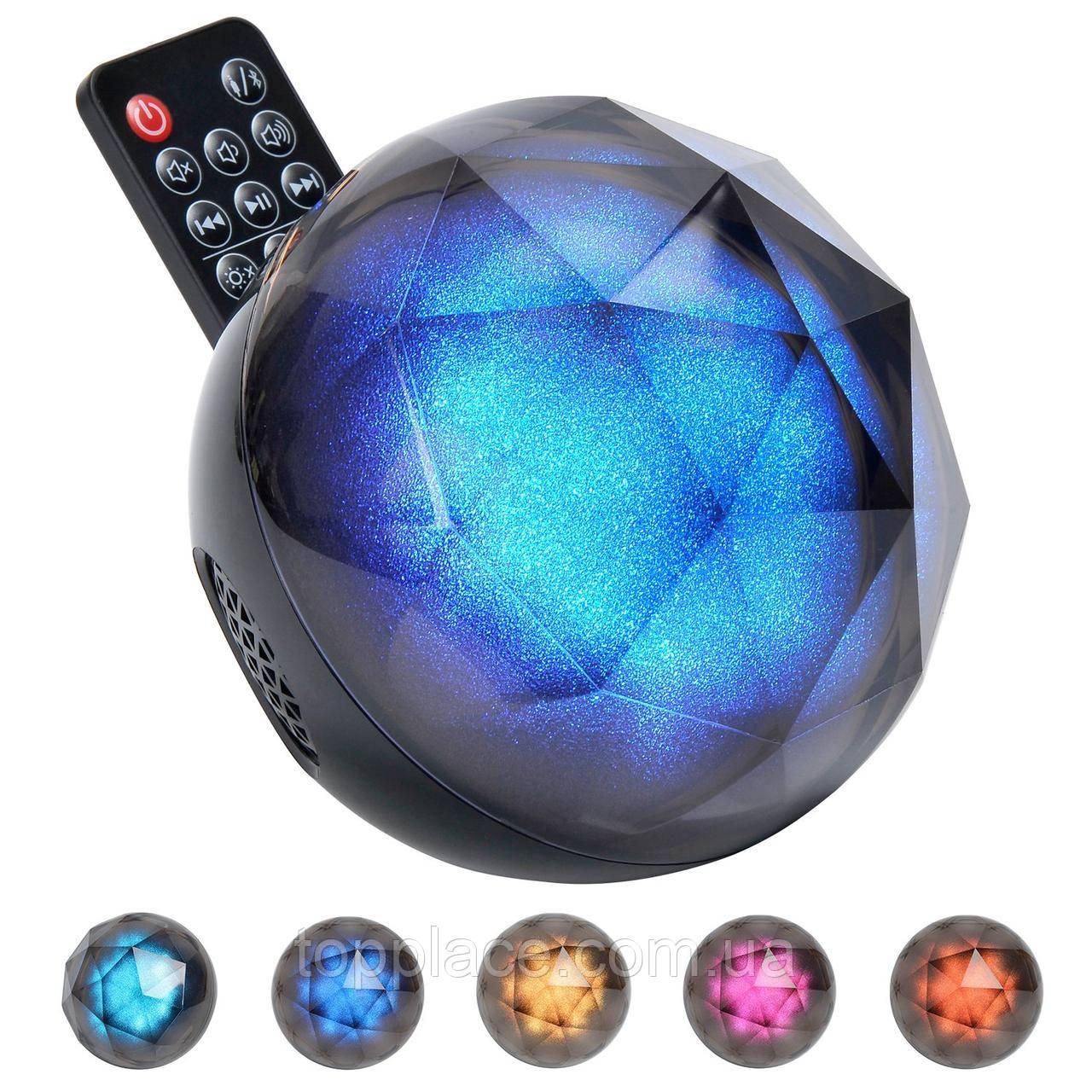 Портативная акустическая Bluetooth колонка Color Ball Speaker с пультом