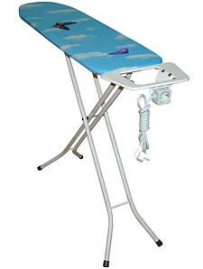 !Акция! Гладильная доска металлический стол (антипригарный чехол) 110*30 см Y-MaX