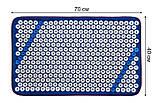 """Акупунктурный массажный коврик """"Универсал"""" 384шт/ мягкий/ 40 * 70 см/ натуральная ткань, фото 2"""