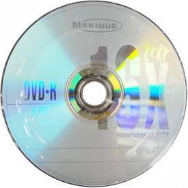 Диски CD-R MAXIMUS 700 Mb 52 x Bulk 50 штук