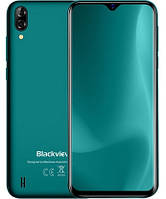"Смартфон Blackview A60 1/16GB Green, 13+0.3/5Мп, 2sim, 6.1"" IPS, 4080mAh, 3G, 4 ядра"