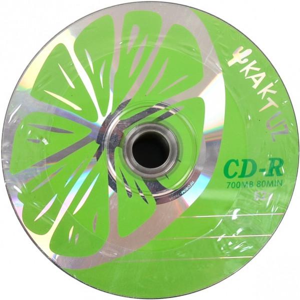 Диски CD-R KAKTUZ 700 Mb 52 x Bulk 50 штук