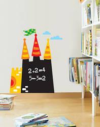 """Дитяча дошка для малювання крейдою """"Замок"""""""