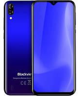 "Смартфон Blackview A60 1/16GB Blue, 13+0.3/5Мп, 2sim, 6.1"" IPS, 4080mAh, 3G, 4 ядра"