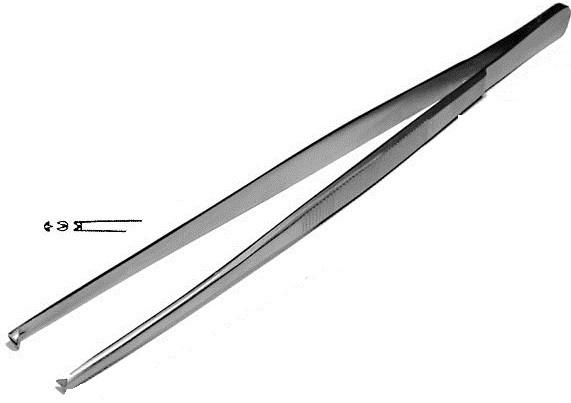 ПМ-9 (П-320)  Пинцет хирургический общего назначения 200 мм