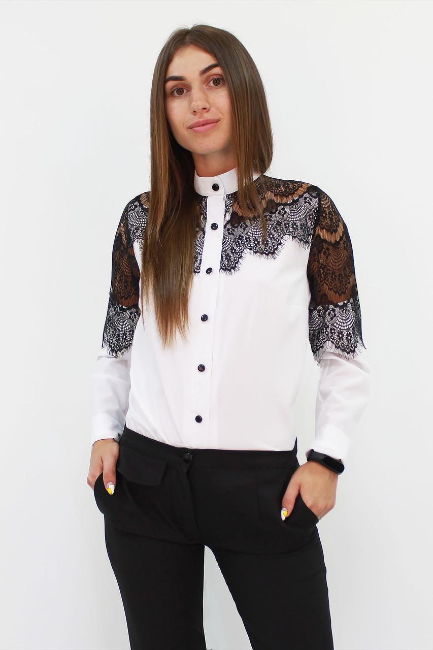 (S, M, L, XL) Вишукана романтична біла блузка
