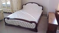 "Кровать из массива дуба ""Александра"". Кровати из натурального дерева. Кровати от производителя. Дубові ліжка."