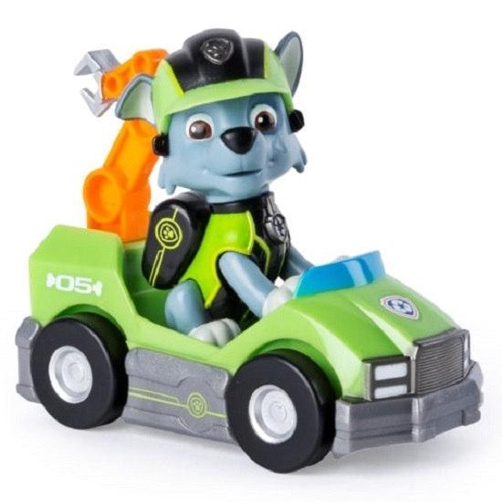 «Щенячий патруль»: спасательный мини автомобиль с фигуркой Рокки (Тайная миссия) Spin Master