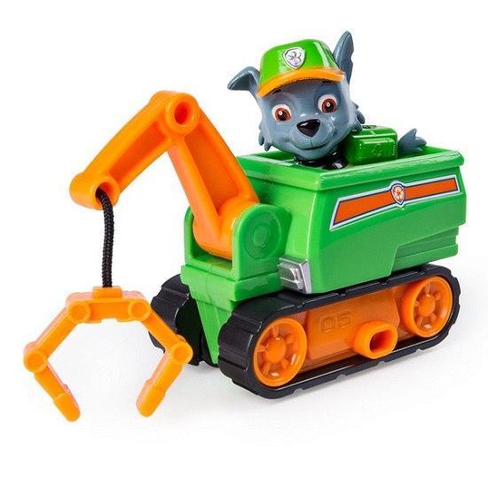 «Щенячий патруль»: спасательный мини автомобиль с фигуркой Рокки (Чрезвычайная миссия) Spin Master
