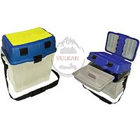 Ящик для зимней рыбалки с мягкими карманами AQUATECH 2870