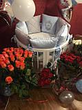 СУПЕР СКИДКА! - 1200 грн Набор для новорожденного  Коляска Tako \ Junama +  Овальная кроватка, фото 8
