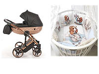 СУПЕР СКИДКА! - 1940 грн Набор для новорожденного  Коляска Tako \ Junama +  Овальная \ круглая кроватка